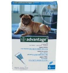 Anti-vlooienmiddel Advantage 100 meer dan 4kg