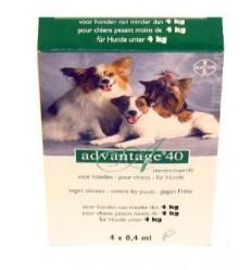Anti-vlooienmiddel Advantage 40 meer dan 4kg