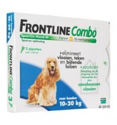 Frontline Combo M anti-vlooien 3 pipetten
